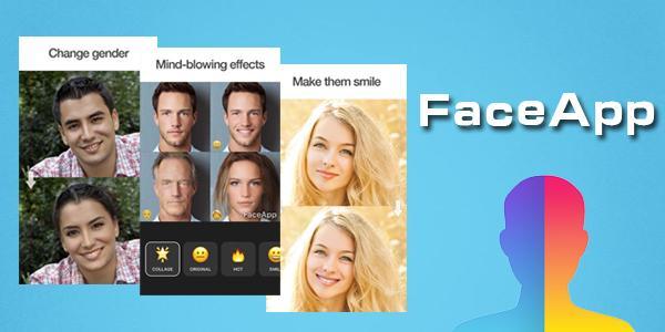 变脸应用FaceApp 一键变成老人 一键返老还童